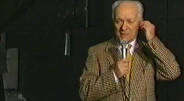Morto Everardo Dalla Noce, aveva 89 anni: diventò celebre a 'Quelli che il calcio'