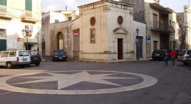 La chiesa di castrignano De' Greci