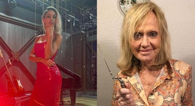 Rita Pavone, lite con Anna Tatangelo ad All Together Now. «Cantavi con Gigi D'Alessio...». Lei va fuori di sé. «Scatta la rissa»