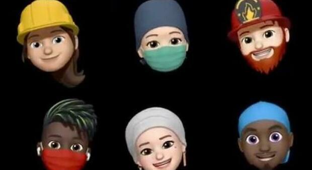Apple, con iOS 14 arrivano le nuove 'memoji' con la mascherina: l'annuncio di Tim Cook