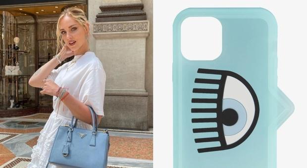 Chiara Ferragni lancia la cover per cellulare con l'occhio. Ecco il prezzo. Fan furiosi: «Non buttiamo così i soldi...»