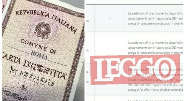 Carta d'identità a Roma? Ripassi tra 4 mesi o l'anno prossimo:è caos anagrafe