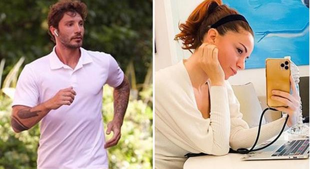 Stefano De Martino e Andrea Delogu (Instagram)