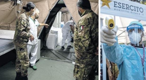 Covid, gli ospedali stanno collassando: da Cosenza alla Val d'Aosta, quei malati in tende militari