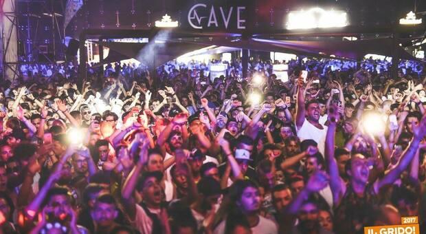 La discoteca Le Cave di Gallipoli
