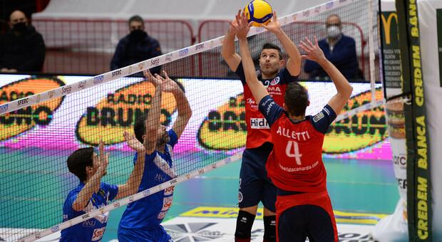 La Prisma Volley in azione