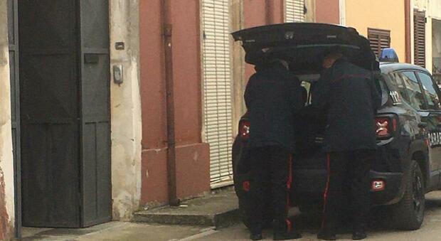 I carabinieri sul luogo della tragedia a San Pietro Vernotico