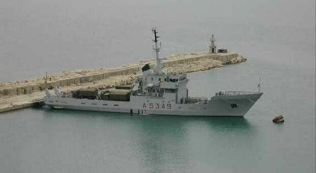La nave Caprera