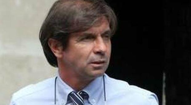Filippo Galli durante l'esperienza da tecnico al Milan
