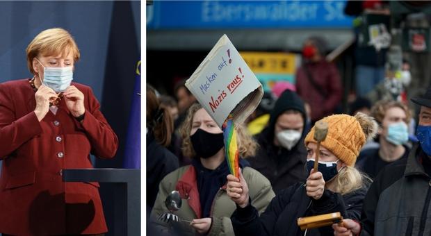Covid, in Germania accordo sulle feste: cene con massimo 10 persone, scuole chiuse prima