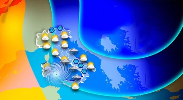 """Meteo, dove farà più freddo? Temperature giù di 15°, effetto """"Wind Chill"""". Roma e Napoli vicine allo zero"""