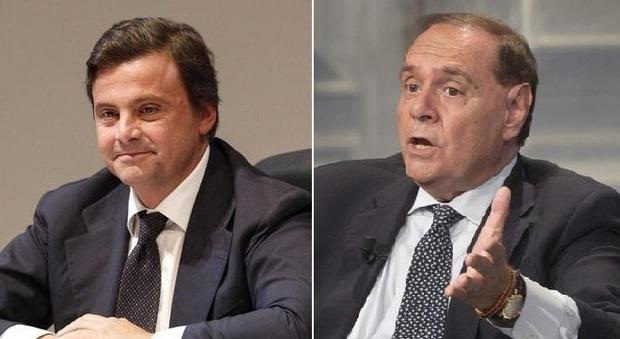 Calenda svela telefonata di Mastella: «Tu appoggi Conte e il Pd appoggia te a Roma». La replica: «Sei squallido»