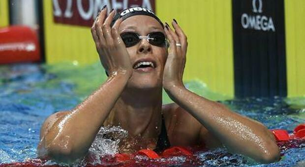 Federica Pellegrini, la dieta per la quinta finale olimpica