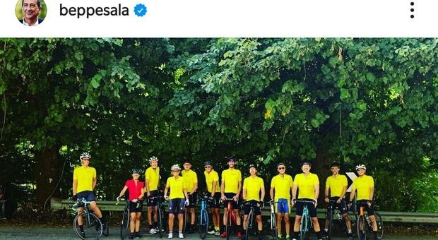 Da Milano a Zoagli in Liguria, 210 km sui pedali: il sindaco Sala e l'impresa in bici