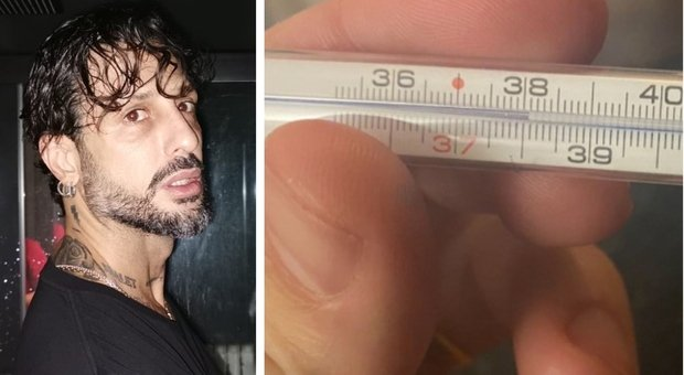 Covid, Fabrizio Corona ha 38 e resta a casa: «Febbre e tampone». Ansia per i risultati