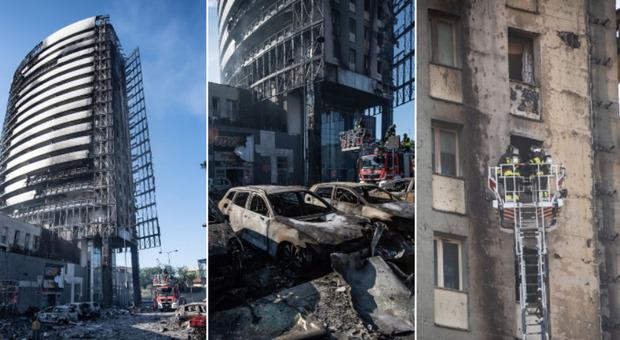 Incendio a Milano, il grattacielo e l' effetto camino : le possibili cause del disastro