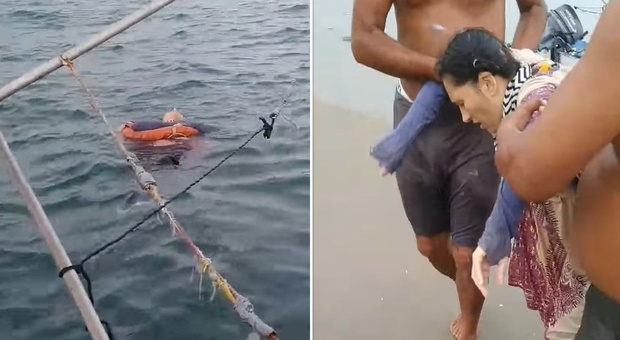 Donna scomparsa da due anni, avvistata in mare e salvata da un gruppo di pescatori