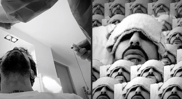 Tampone Covid per Fabrizio Corona: «Ho la febbre a 38 ma continuo a lavorare». Scoppia la polemica