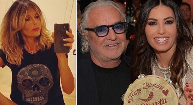 Arianna David, Flavio Briatore ed elisabetta Gregoraci (Instagram)