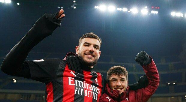 Il Milan esulta: negativi Rebic, Krunic e anche Theo Hernandez. «Era un falso positivo»