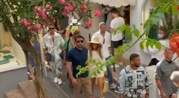 A Capri la coppia più Vip del momento: Jlo e Ben Affleck