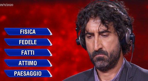 Massimo Cannoletta inarrestabile: scopre di nuovo la parola vincente all'Eredità grazie ai Tiromancino