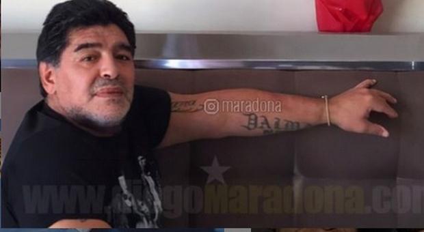 Maradona (Instagram)