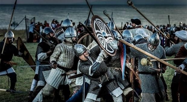 Va in scena nel parco la battaglia tra Normanni e Bizantini
