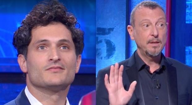 Alessandro Tersigni ai Soliti Ignoti, il gesto dell'ignoto spiazza tutti: «Ha spoilerato la soluzione». Amadeus reagisce così