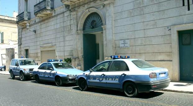 Il commissariato di polizia di Ostuni