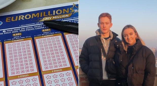 La coppia che vince alla lotteria ma non avrà il premio da 210 milioni di euro per un errore clamoroso