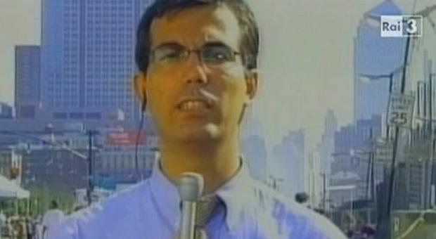 Giovanni Floris, per la Rai a New York l'11 settembre 2001