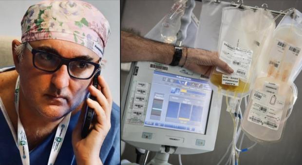 Plasma iperimmune per curare donna incinta: i Nas chiamano il Poma di Mantova. De Donno: «Non mi scoraggeranno»