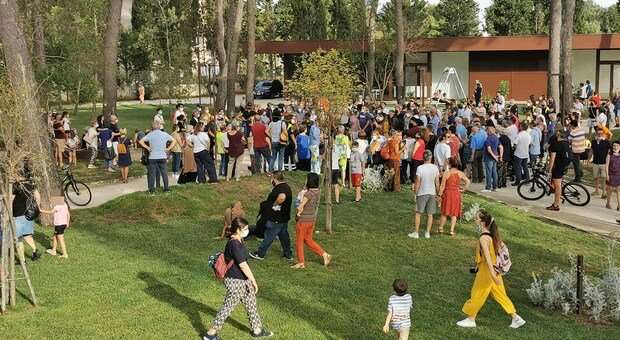 Inaugurazione parco ex Galateo a Lecce: «Prossimo passo ex Sanatorio»