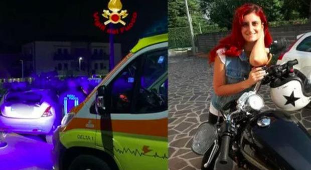 Scontro tra due auto nella notte, morta una ragazza: Giulia aveva 29 anni