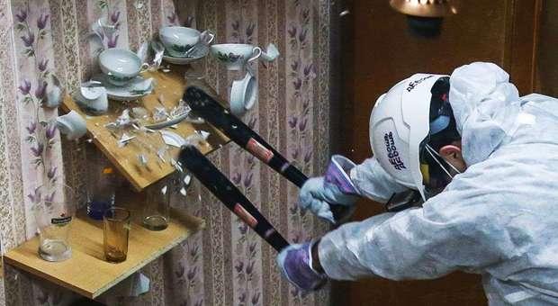 Rage Room: piedi di porco, mazze da baseball e martelli nella stanza per distruggere tutto e sfogare l'ansia