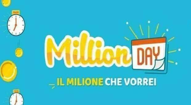 MillionDay, i cinque numeri vincenti di lunedì 2 agosto 2021
