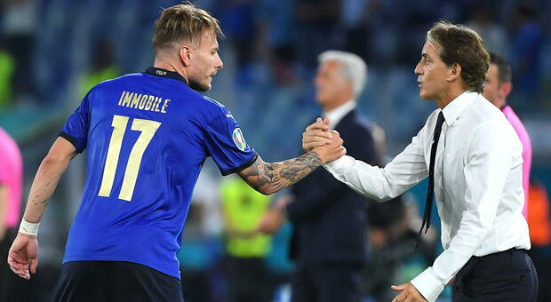 Italia-Svizzera, Mancini esulta: «Partita durissima, ma vittoria strameritata»
