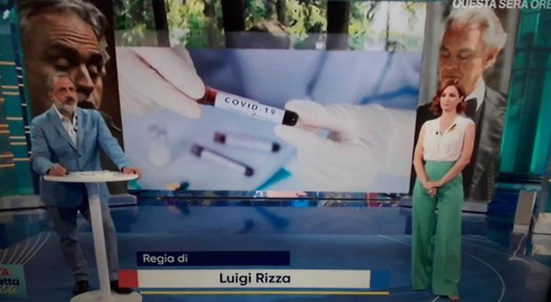 """Andrea Delogu, """"incidente"""" a Vita in Diretta: costretta ad abbandonare lo studio. «Masi continua tu»"""