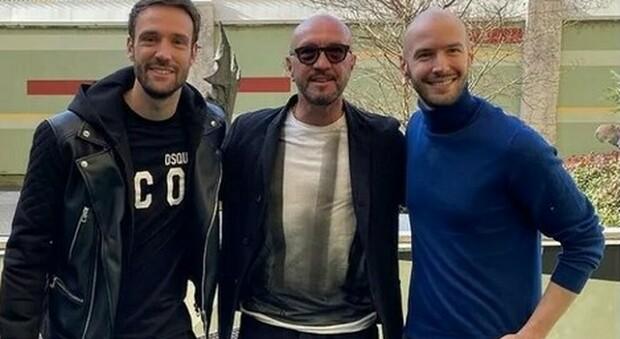 Walter Zenga con i figli Andrea e Niccolò (Instagram)