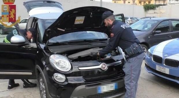Operazione della polizia stradale