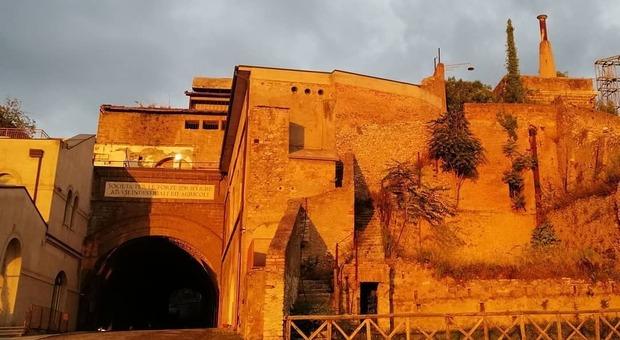 Una veduta dell'Ercole Vincitore a Tivoli