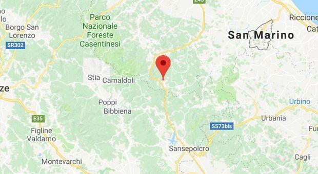 Terremoto sull'Appennino romagnolo all'alba, paura tra la gente
