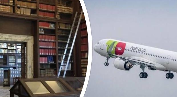 La Tap Air guarda al Sud Italia: inaugurato nella sede della Società Geografica Italiana il volo Napoli-Lisbona
