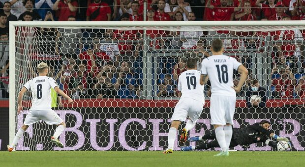 Svizzera-Italia 0-0: Jorginho sbaglia un rigore, solo un punto contro gli elvetici