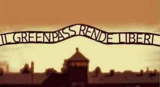 Ferrara, preside posta foto di Auschwitz con riferimento al Green pass