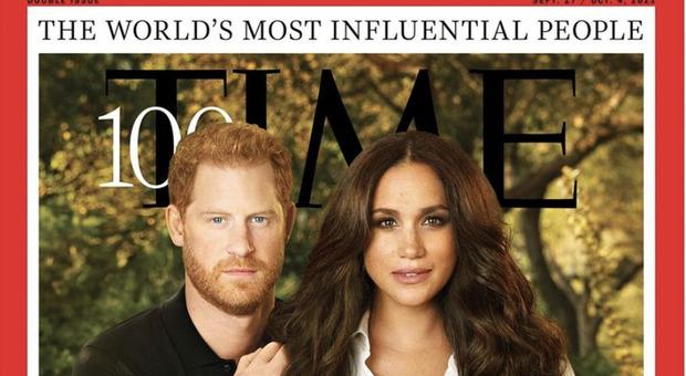 """Il Time ha incoronato come """"Le persone più influenti"""", i reali Harry e Meghan"""