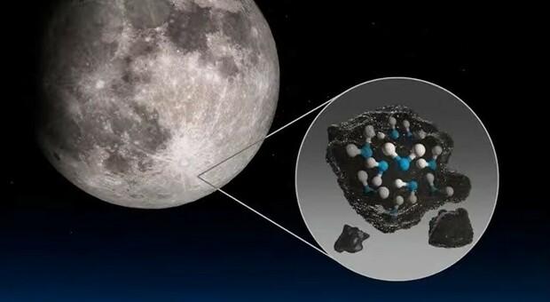 La Nasa: «C'è acqua sulla Luna, molta più di quanto potessimo immaginare»
