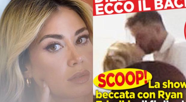 Diletta Leotta, le foto dopo lo sfogo: «Ecco il bacio con Ryan Friedkin»