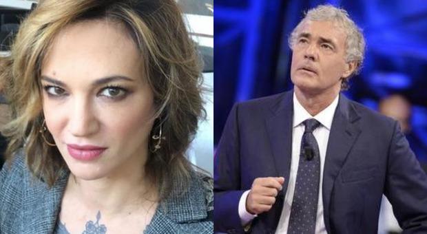 Asia Argento a Non è l'Arena, scontro in tv con Pietro Senaldi: «Stai zitto o ti infilo il tacco in bocca»